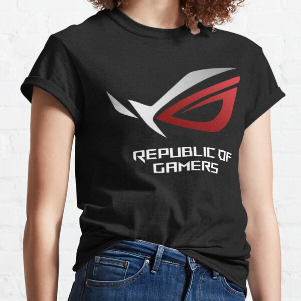 ordinateur portable e wong sugih tur apik ROG Republic Of Games T-shirt classique