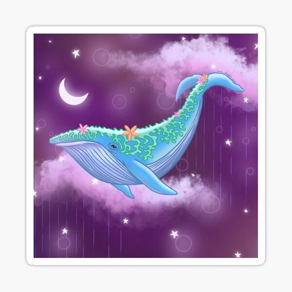 Cosmic Whale Sticker
