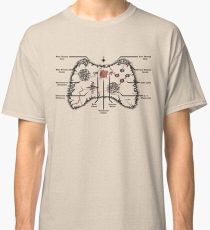 Controller Map Classic T-Shirt