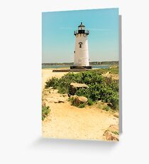 Edgartown Lighthouse, Martha's Vineyard Greeting Card