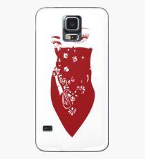 Red Bandana Girl Case/Skin for Samsung Galaxy