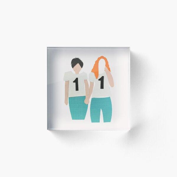 tATu Russia girl band Acrylic Block