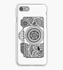 Click! Doodled Camera iPhone Case/Skin