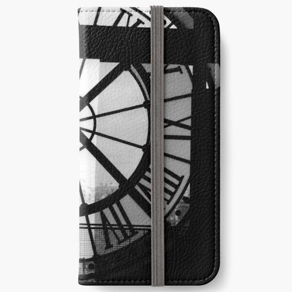 Clock Face, Musee d'Orsay, Paris (2000) iPhone Wallet