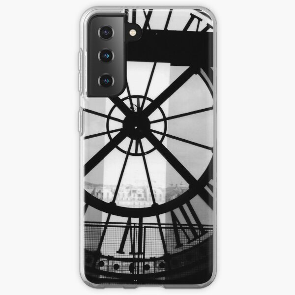 Clock Face, Musee d'Orsay, Paris (2000) Samsung Galaxy Soft Case