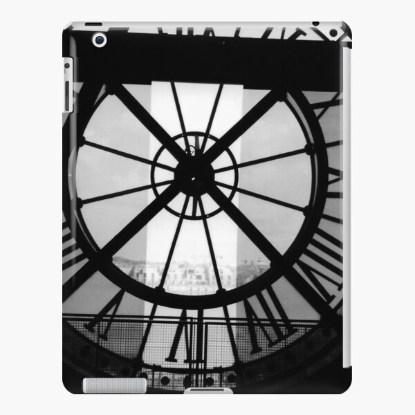 Clock Face, Musee d'Orsay, Paris (2000) iPad Snap Case