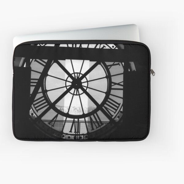 Clock Face, Musee d'Orsay, Paris (2000) Laptop Sleeve