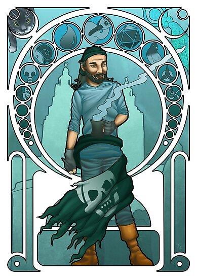 Portrait Of Myself by ianablakeman