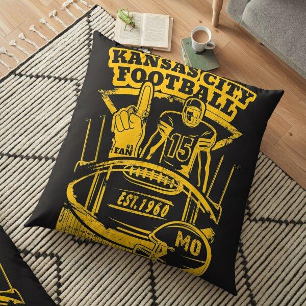 Kansas City Retro Vintage Kc Football Missouri 2020 Gift  Floor Pillow
