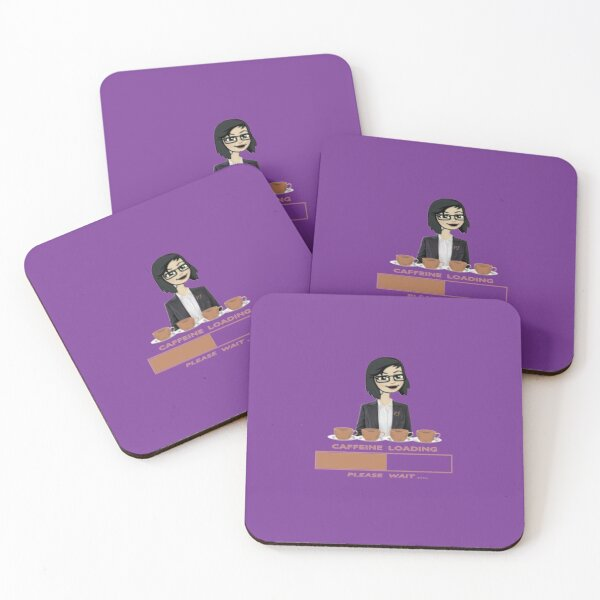 I need Coffee  Coasters (Set of 4)