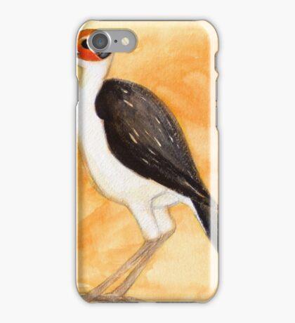 White-Necked Rockfowl iPhone Case/Skin