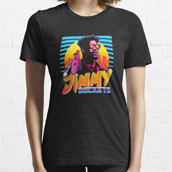 Jimmy Buckets Miami Outrun Style Graphic Essential T-Shirt