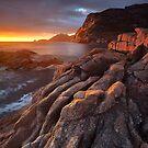 Sleepy Bay Sunrise by Nick Skinner