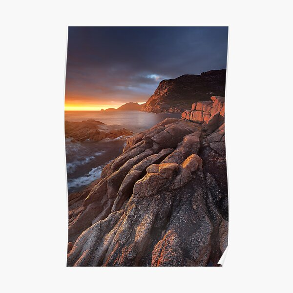 Sleepy Bay Sunrise Poster
