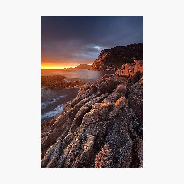 Sleepy Bay Sunrise Photographic Print