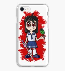 Japanese School girl iPhone Case/Skin