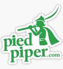 Silicon Valley's Pied Piper Shirt Sticker