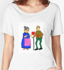 sweet hearts Women's Relaxed Fit T-Shirt