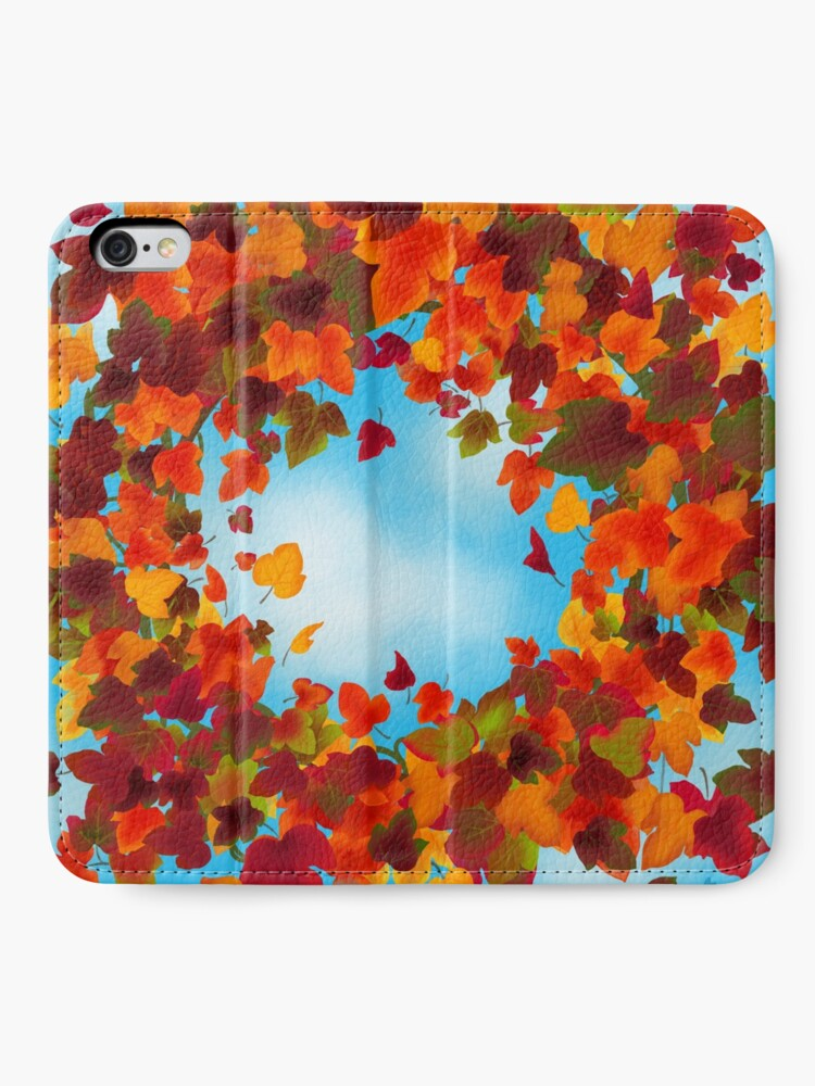 Alternate view of Autumn iPhone Wallet