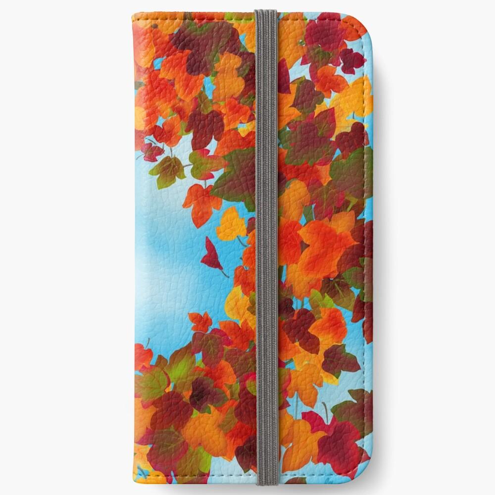 Autumn iPhone Wallet