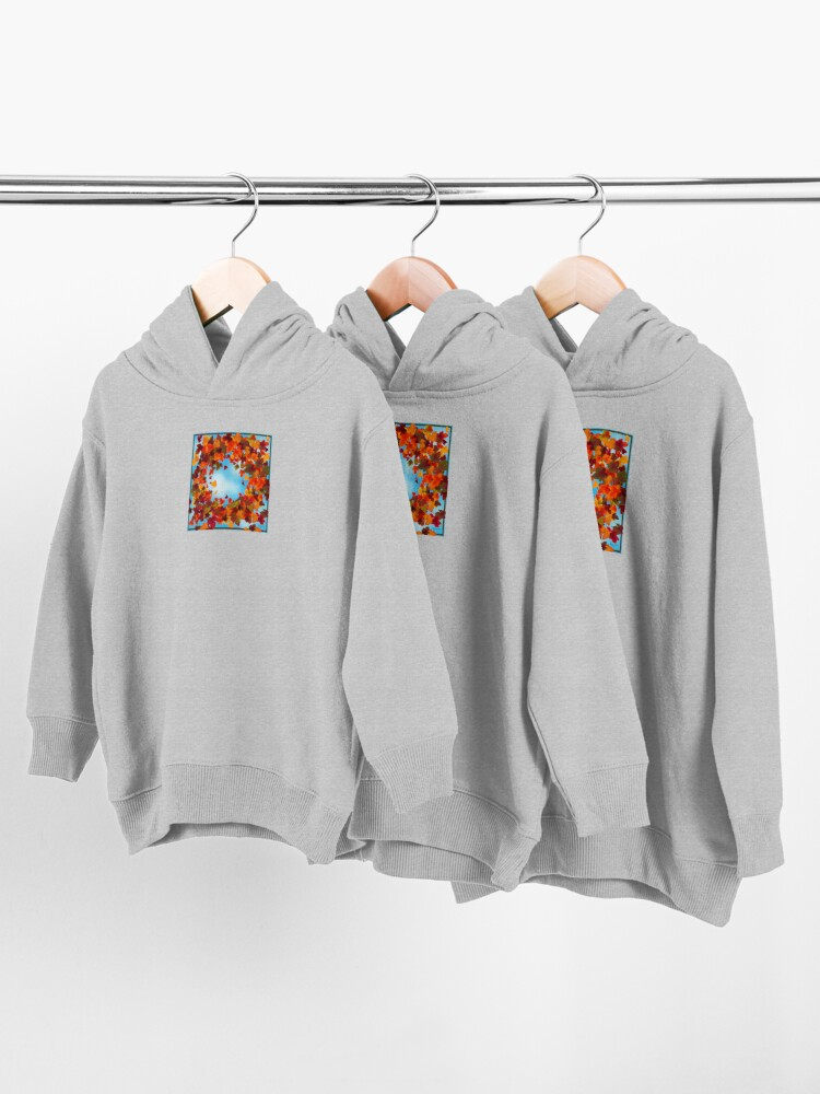 Alternate view of Autumn Toddler Pullover Hoodie