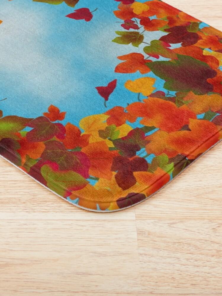 Alternate view of Autumn Bath Mat