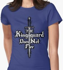The Kingsguard Does Not Flee Women's Fitted T-Shirt