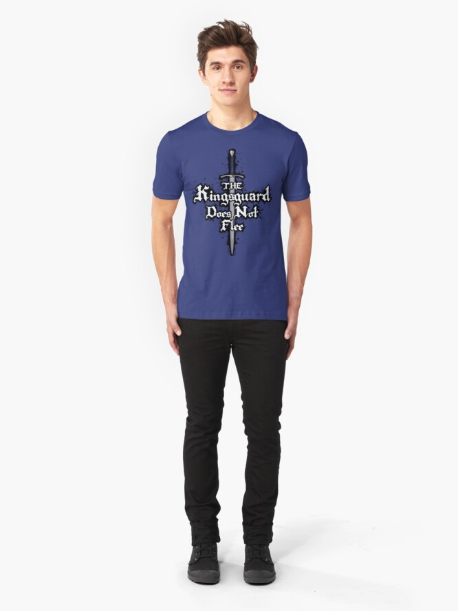 Alternate view of The Kingsguard Does Not Flee Slim Fit T-Shirt