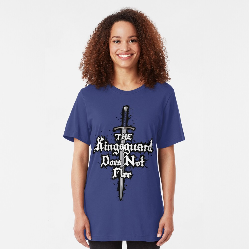 The Kingsguard Does Not Flee Slim Fit T-Shirt