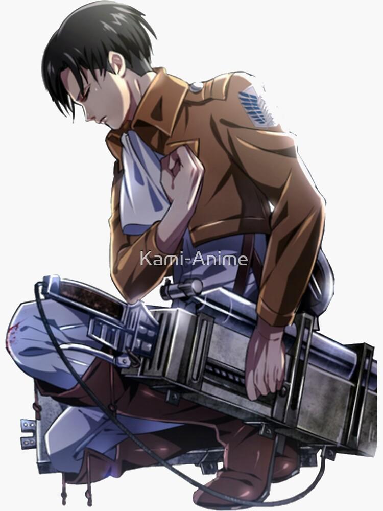 Levi Ackerman Salute - Attack on Titan  by Kami-Anime
