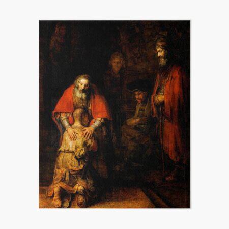Return of the Prodigal Son Art Board Print