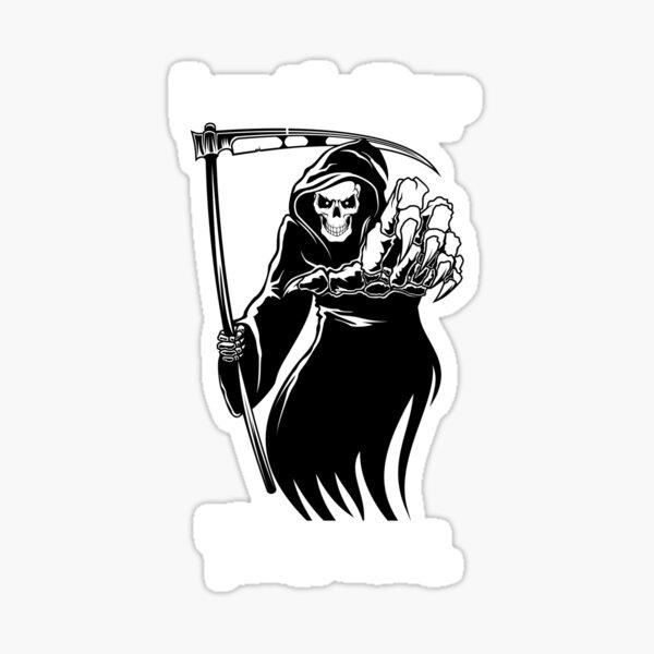 Grim Reaper Tshirts Sticker