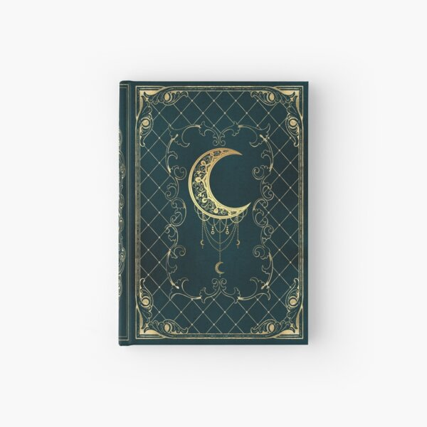 Magic moon grimoire diary sketchbook Hardcover Journal