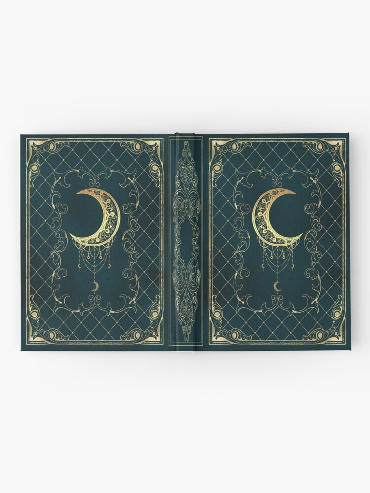Alternate view of Magic blue moon Hardcover Journal