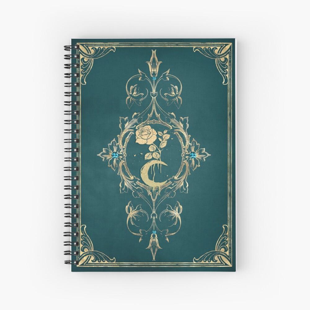 Flower moon Spiral Notebook