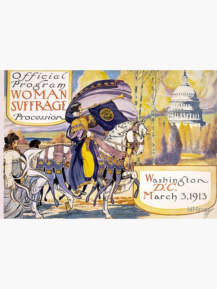 1913 Women's March On Washington - Votes For Women Circa 1913 - Women's Suffrage  by MHirose