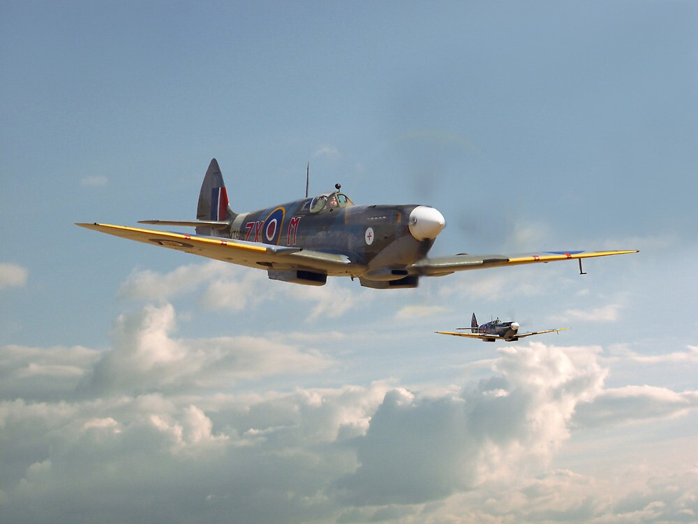 Spitfire - Two's Company by Pat Speirs