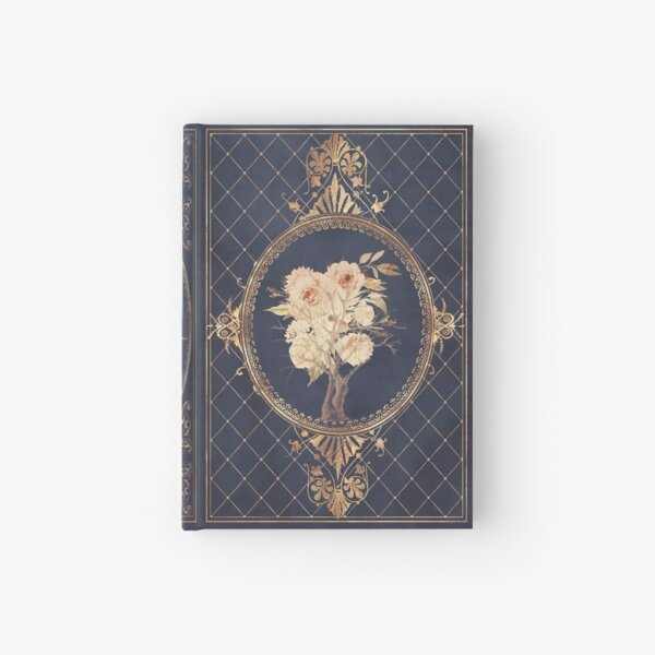 Magic rose fantasy diary sketchbook Hardcover Journal
