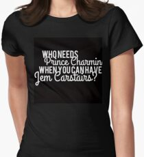 Prince Charming - Jem Carstairs Women's Fitted T-Shirt