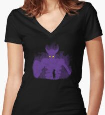Susanoo Inside Women's Fitted V-Neck T-Shirt