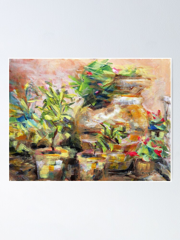 Alternate view of Garden Pots Poster