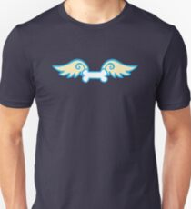 cute doggie dog bone with wings Unisex T-Shirt