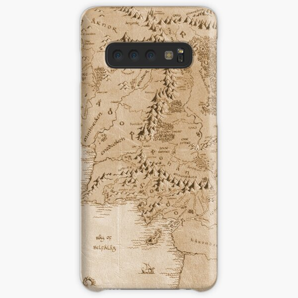 Tolkien Map of Middle Earth Samsung Galaxy Snap Case