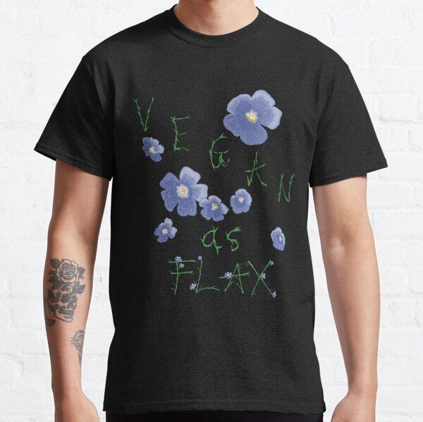 Vegan comme le lin T-shirt classique