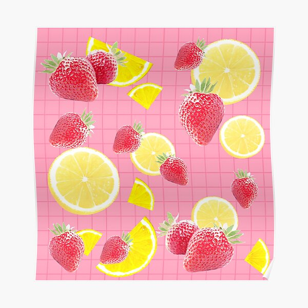 Strawberry lemonade!  Poster