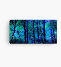 Blue twilight fantasy Canvas Print