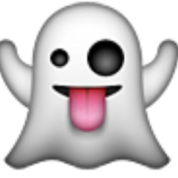 Emoji ghost  by popular