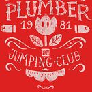 Plumber Jumping Club by Azafran