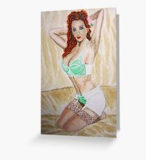 Nude 47 Greeting Card