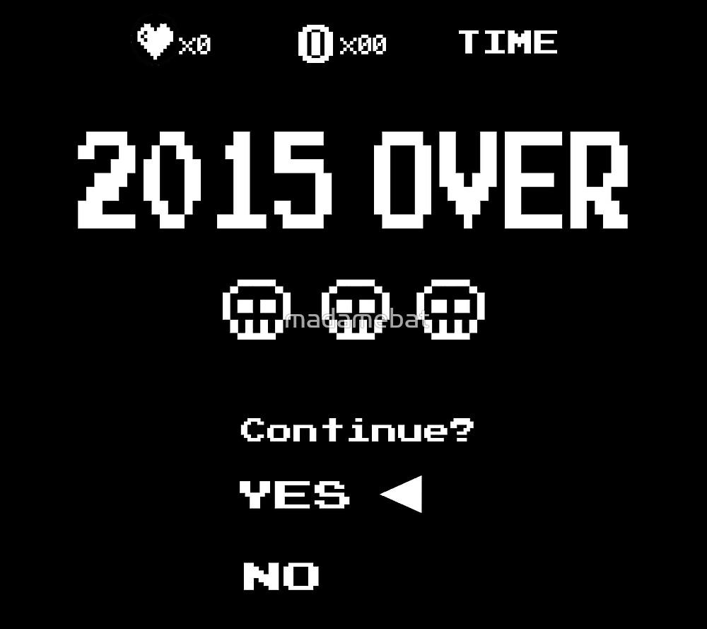 Game Over by madamebat